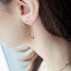 Angulaires Boucles d'oreilles CHILL