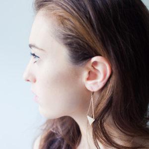Angulaires Boucles d'oreilles Nodi