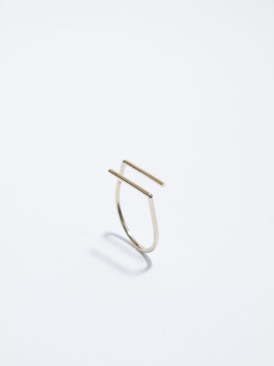 bague minimaliste unfold