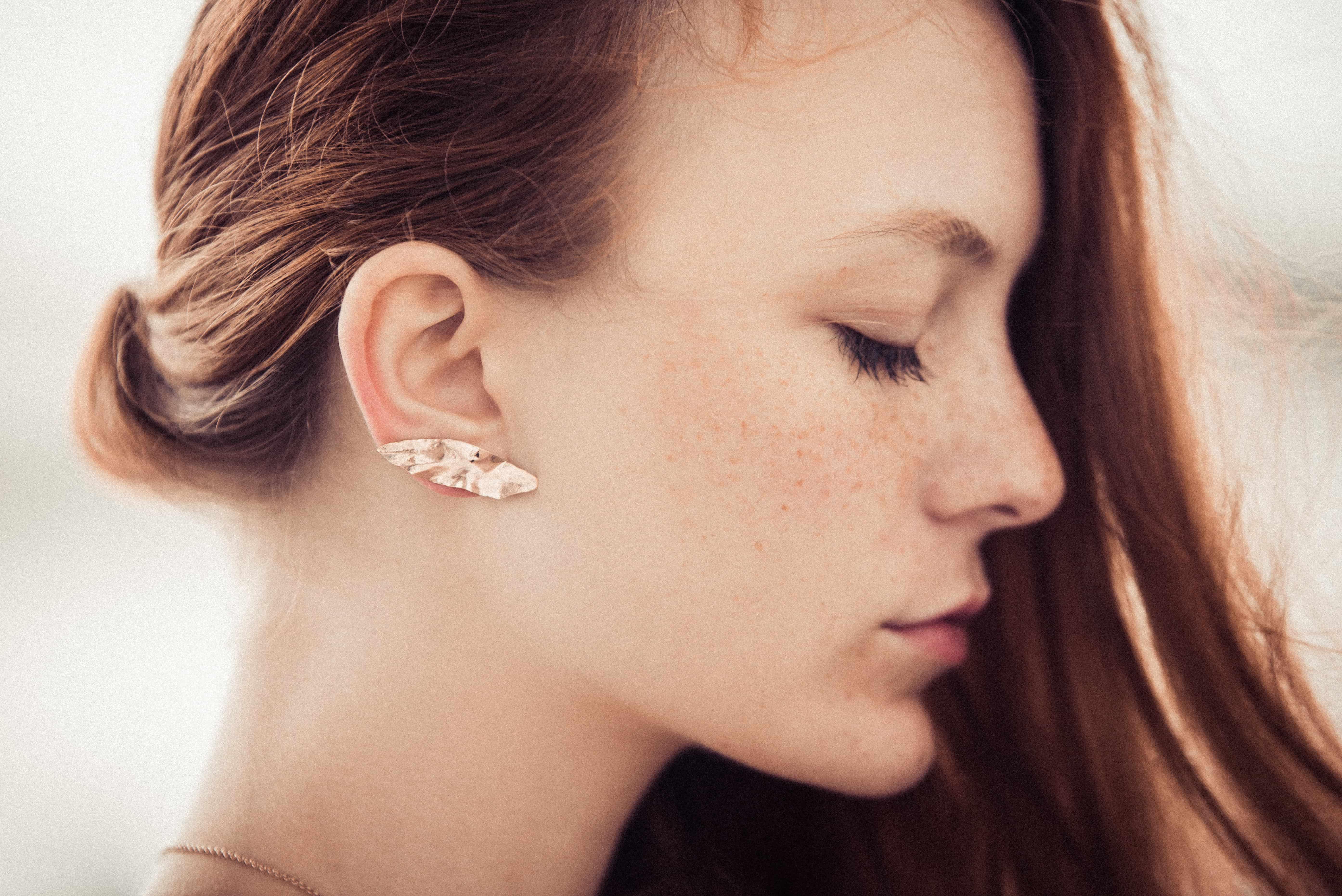 bijou d'oreille earjacket Laurus