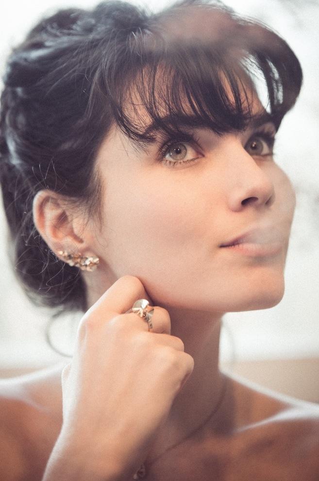 bague pampille bijoux uniques délicats bijoux minimalistes unfold