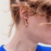 boucles d'oreilles graphiques