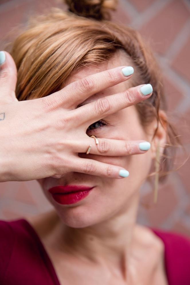 bijoux minimalistes Bague simple
