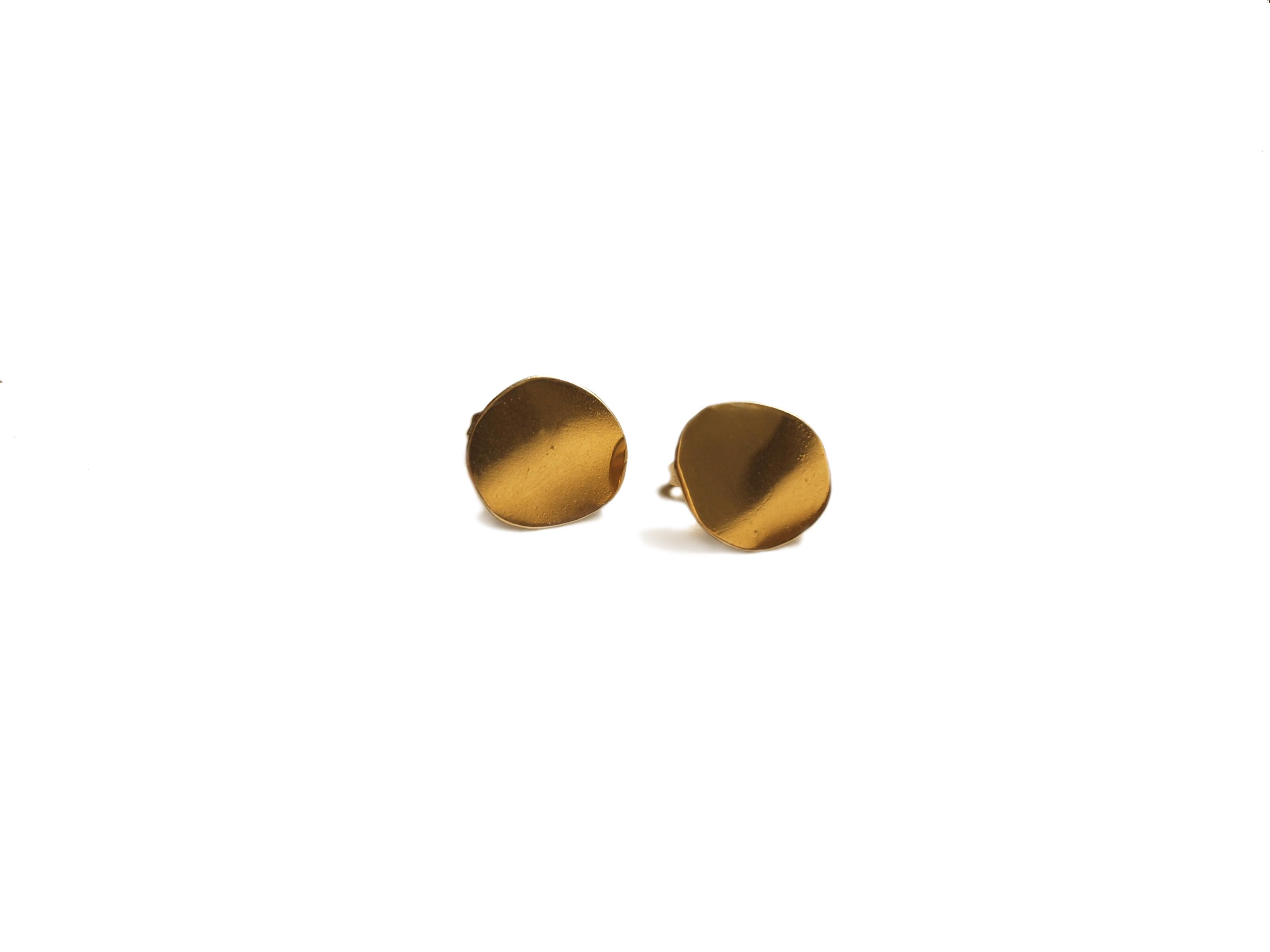 Boucles d'oreilles rondes graphiques