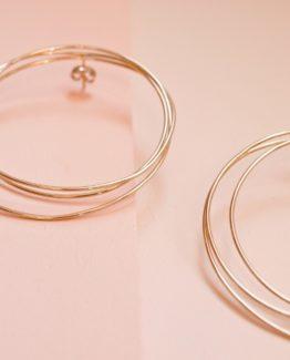 maxi boucles d'oreilles bijoux délicats bijoux uniques