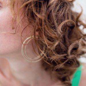 bijoux minimalistes maxi boucles d'oreilles