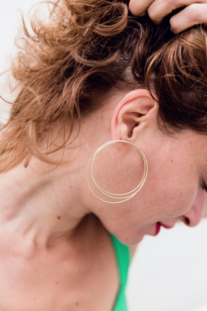 maxi boucles d'oreilles