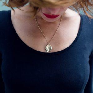 bijoux minimalistes Collier mille feuilles Etamine
