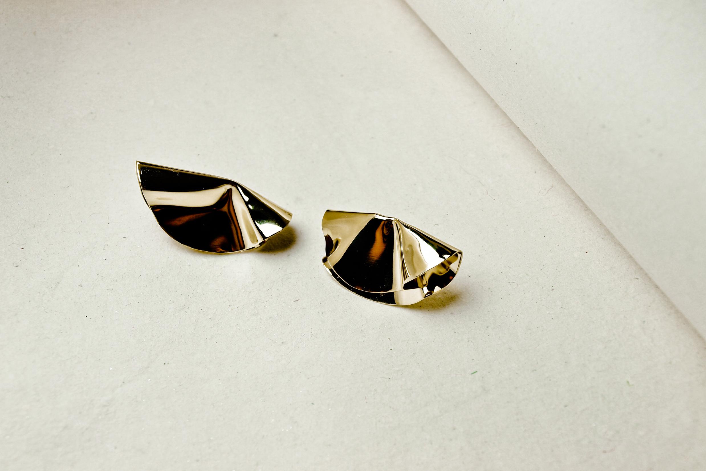 boucles d'oreilles corolles purse bijoux fait main bijou unique