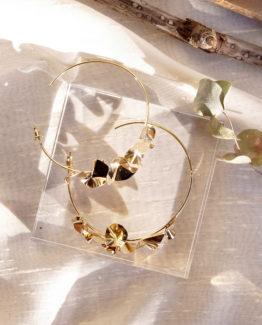 boucles d'oreille mariage maxi creoles mariage unique